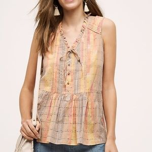 Anthropologie Holding Horses Faye Tank Top Size 0